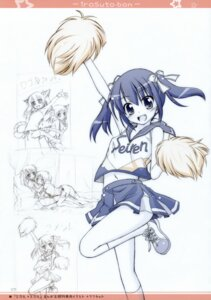 Rating: Questionable Score: 9 Tags: animal_ears cheerleader manami_tatsuya nekomimi titokara_2nd_branch User: Chrissues