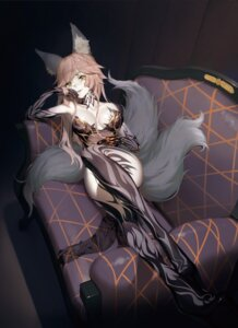 Rating: Safe Score: 12 Tags: animal_ears caster_(fate/extra) cleavage fate/grand_order hoshi_o_mite tail User: Mr_GT