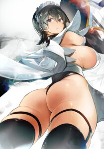 Rating: Questionable Score: 38 Tags: ass garter iroha leotard nishiide_kengorou no_bra samurai_spirits stockings thighhighs User: BattlequeenYume