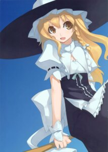Rating: Safe Score: 8 Tags: kirisame_marisa missing_link shingo touhou User: blooregardo