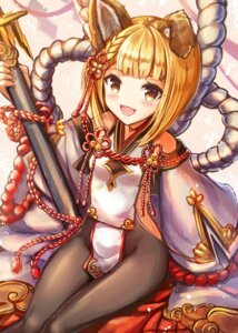 Rating: Safe Score: 33 Tags: animal_ears granblue_fantasy pantyhose sakura_ani vajra_(granblue_fantasy) weapon User: Mr_GT