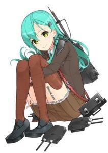 Rating: Safe Score: 42 Tags: kantai_collection musk_tiger seifuku suzuya_(kancolle) thighhighs User: Mr_GT