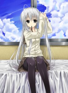 Rating: Safe Score: 81 Tags: hika_(cross-angel) kasugano_sora pantsu pantyhose yosuga_no_sora User: mahoru
