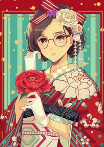 Rating: Safe Score: 22 Tags: bashikou kimono megane User: Mr_GT