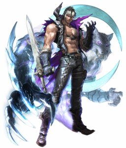 Rating: Safe Score: 4 Tags: armor bandai_namco e.i.n. kawano_takuji male open_shirt soul_calibur soul_calibur_v sword tattoo torn_clothes z.w.e.i. User: Yokaiou