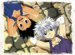 Rating: Safe Score: 7 Tags: gon_freecs hunter_x_hunter killua_zaoldyeck male User: Radioactive