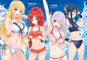 Rating: Questionable Score: 56 Tags: bikini breast_hold chigusa_asuha cleavage matsuryuu qualidea_code rindou_hotaru swimsuits tenkawa_maihime utara_canaria User: Radioactive