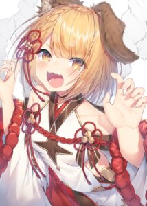 Rating: Questionable Score: 10 Tags: animal_ears granblue_fantasy japanese_clothes pantyhose topia vajra_(granblue_fantasy) User: Mr_GT