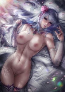 Rating: Explicit Score: 52 Tags: axsens emilia_(re_zero) naked nipples pointy_ears pussy re_zero_kara_hajimeru_isekai_seikatsu thighhighs uncensored User: BattlequeenYume
