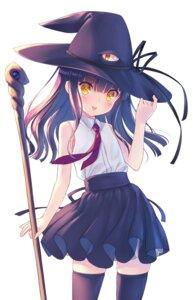 Rating: Safe Score: 26 Tags: na-ga thighhighs weapon witch User: edogawaconan