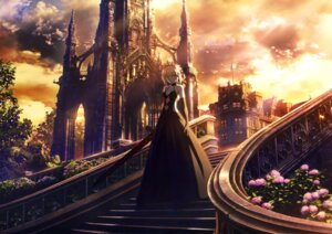 Rating: Safe Score: 61 Tags: cleavage dress fate/grand_order fate/stay_night landscape saber saber_alter sword takeuchi_takashi type-moon User: drop