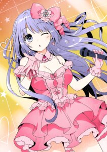 Rating: Safe Score: 43 Tags: cleavage date_a_live date_a_live_encore dress izayoi_miku tagme tsunako User: kiyoe