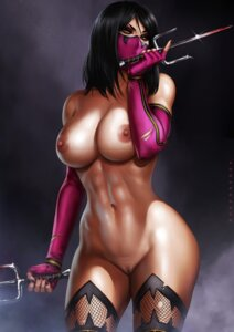 Rating: Explicit Score: 32 Tags: dandon_fuga fishnets mileena mortal_kombat_(2011) mortal_kombat_x naked nipples pussy thighhighs uncensored weapon User: Radioactive