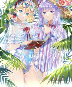 Rating: Safe Score: 31 Tags: alice_margatroid cleavage ekita_gen megane patchouli_knowledge see_through swimsuits touhou wet User: RyuZU