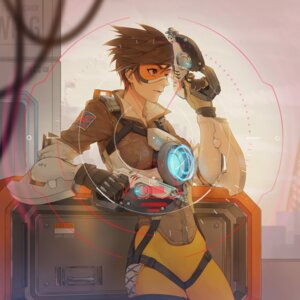 Rating: Safe Score: 25 Tags: bodysuit gun keikoku_(kujira) overwatch tracer User: Mr_GT