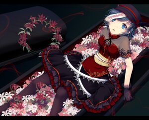Rating: Safe Score: 39 Tags: cetera chinadress gothic_lolita lolita_fashion miyako_yoshika pantyhose touhou User: 椎名深夏