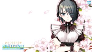 Rating: Safe Score: 25 Tags: haikuo-soft kasukabe_akira kirishima_sakura maid sakura_sakura wallpaper User: beitiao