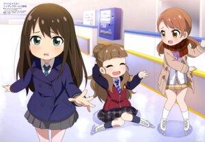 Rating: Safe Score: 21 Tags: houjou_karen kamiya_nao seifuku shibuya_rin the_idolm@ster the_idolm@ster_cinderella_girls yamada_eiko User: drop