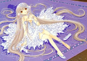 Rating: Safe Score: 21 Tags: chii chobits clamp cleavage dress feet fixed User: MosquitoJack