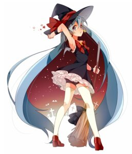 Rating: Safe Score: 75 Tags: hatsune_miku thighhighs u35 vocaloid witch User: Radioactive