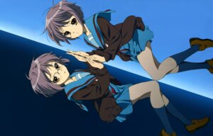 Rating: Safe Score: 27 Tags: megane nagato_yuki seifuku suzumiya_haruhi_no_yuuutsu wallpaper User: (SOSG)