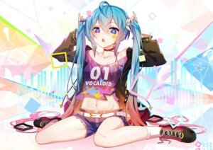 Rating: Safe Score: 42 Tags: artist_revision cleavage hatsune_miku see_through sen_ya tattoo torn_clothes vocaloid User: BattlequeenYume