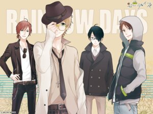 Rating: Safe Score: 3 Tags: male megane mizuno_minami nijiiro_days wallpaper User: ls26784