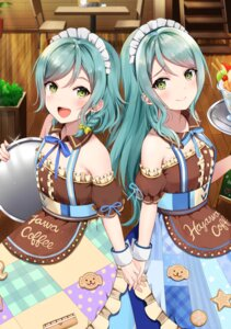 Rating: Safe Score: 46 Tags: bang_dream! hikawa_hina hikawa_sayo maid tagme uniform waitress User: Spidey