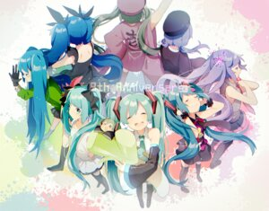 Rating: Safe Score: 21 Tags: dress hatsune_miku thighhighs uiyuzo vocaloid User: nphuongsun93