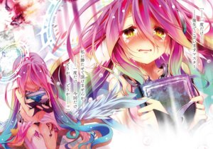 Rating: Safe Score: 23 Tags: digital_version jibril_(no_game_no_life) no_game_no_life pantsu tagme tattoo thighhighs wings User: kiyoe