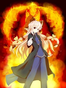 Rating: Safe Score: 13 Tags: crossover fujiwara_no_mokou fullmetal_alchemist roy_mustang touhou xulhey User: Radioactive