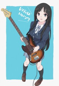 Rating: Safe Score: 13 Tags: akiyama_mio guitar hasisisissy k-on! seifuku User: Dreista