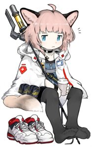 Rating: Safe Score: 8 Tags: animal_ears arknights chibi feet menla pantyhose sussurro_(arknights) tail weapon User: Mr_GT