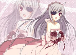 Rating: Safe Score: 23 Tags: brunhilde dress eyepatch infinite_stratos laura_bodewig wedding_dress User: 椎名深夏