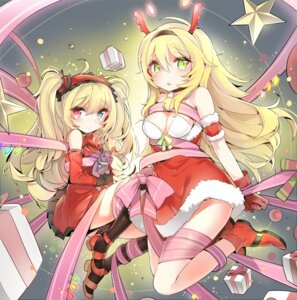 Rating: Questionable Score: 51 Tags: boku_wa_tomodachi_ga_sukunai christmas cleavage hasegawa_kobato heterochromia kashiwazaki_sena yuran User: fairyren