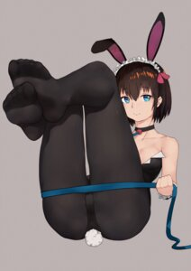 Rating: Safe Score: 44 Tags: animal_ears bunny_ears bunny_girl feet grain pantyhose tail User: Mr_GT
