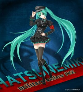 Rating: Safe Score: 38 Tags: hatsune_miku monogo thighhighs uniform vocaloid User: 23yAyuMe