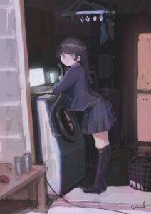 Rating: Safe Score: 11 Tags: reoen seifuku tsukino_mito tsukino_mito_(character) User: RyuZU