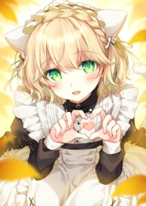Rating: Safe Score: 37 Tags: 2980 animal_ears maid nekomimi nijisanji suzuya_aki tail trap User: sym455