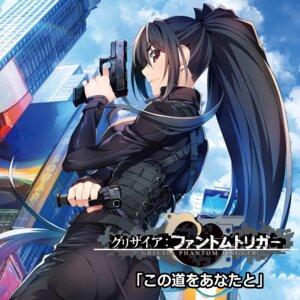 Rating: Safe Score: 25 Tags: ass bodysuit disc_cover grisaia_phantom_trigger gun watanabe_akio User: blooregardo