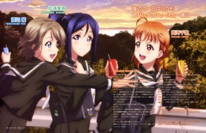 Rating: Safe Score: 31 Tags: love_live!_sunshine!! matsuura_kanan seifuku suzuki_isamu takami_chika watanabe_you User: drop