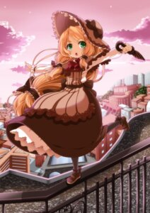 Rating: Safe Score: 26 Tags: dress eiyuu pantyhose umbrella User: Mr_GT
