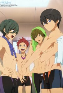 Rating: Safe Score: 5 Tags: free! high_speed! kirishima_ikuya male nanase_haruka shiina_asahi swimsuits tachibana_makoto yamaguchi_taira User: kunkakun