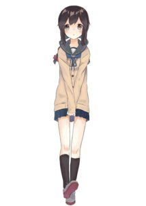 Rating: Safe Score: 44 Tags: isonami_(kancolle) kantai_collection seifuku sweater tapimakura User: nphuongsun93