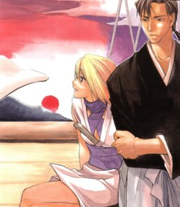Rating: Safe Score: 1 Tags: akesato chrono_nanae peacemaker_kurogane User: nanashioni