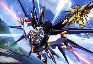 Rating: Questionable Score: 16 Tags: gundam gundam_seed gundam_seed_destiny strike_freedom_gundam yamagishi_masakazu User: drop