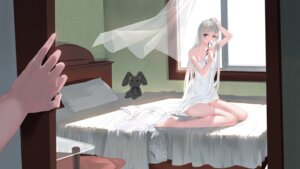 Rating: Safe Score: 33 Tags: dress heterochromia kamachi_kamachi-ko kasugano_sora pantsu yosuga_no_sora User: Mr_GT