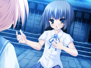 Rating: Safe Score: 8 Tags: aizawa_tobari alcot fair_child game_cg nimura_yuuji seifuku User: xxdcruelifexx