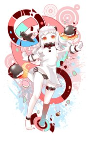 Rating: Questionable Score: 33 Tags: dress horns kantai_collection northern_ocean_hime pantsu string_panties y.i._(lave2217) User: Mr_GT