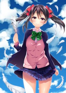 Rating: Safe Score: 33 Tags: love_live! sayaka_otaku seifuku skirt_lift sweater yazawa_nico User: RyuZU